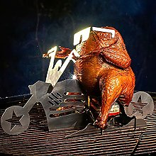 Portable Chicken Stand Beer American Motorcycle