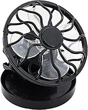 Portable Clip On Solar Cell Fan Mini Air