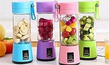 Portable Compact Juice Blender: Pink