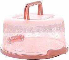 Portable Cupcake Carrier Transparent Cake Box Food