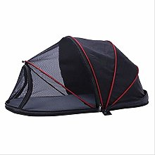 Portable Dog House Cage Tent for Small Dogs Folded