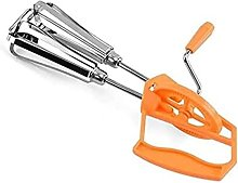 Portable Egg Beater Kitchen Tool 1 PC Stainless