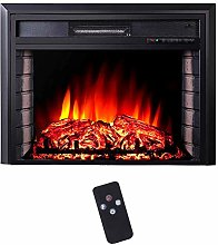 Portable Electric Fireplace Insert Heater,Wall