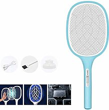 Portable Electric Fly Swatter Mini Bug Zapper