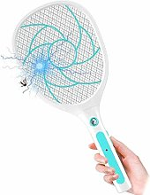 Portable Electric Mosquito Zapper Racket Bug