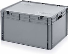 Portable Euro Stackable Plastic Tool Box Boxes