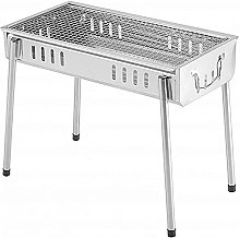 Portable Foldable Barbecue Grill BBQ Table Camping