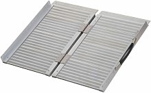 Portable Folding Aluminum Ramp with Carry Handle