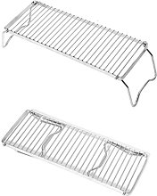 Portable Folding Barbecue Grill Stand, Lengthen