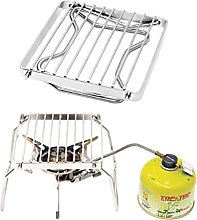 Portable Folding Barbecue Grill Stand, Outdoor