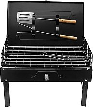 Portable Folding BBQ Charcoal Grill, Foldable