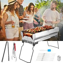 Portable folding BBQ Grill,Kacsoo Stainless steel