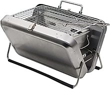 Portable Folding Charcoal Barbecue Grill outdoor,