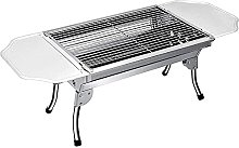 Portable Folding Charcoal Barbecue Grill Stainless