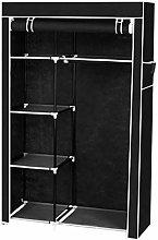 Portable Folding Clothes Closet Wardrobe Storage