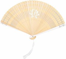 Portable Folding Fan Hand Fan, Bamboo Hand Fan,