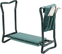 Portable Folding Gardening Kneeler Seat Stool