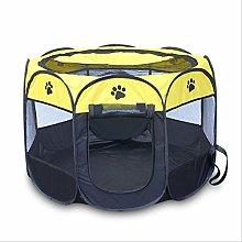 Portable Folding Pet Carrier Tent Playpen Dog Cat