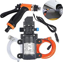 Portable High Pressure Washer Water Pump, 12V Car