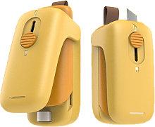 Portable household mini hand pressure sliding lid