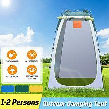 Portable Instant Tent 120*120*190cm Green+Grey