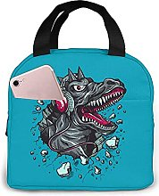 Portable Insulated Kids Lunch Bag, Dinosaur