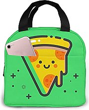 Portable Insulated Kids Lunch Bag, Pizza