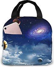Portable Insulated Kids Lunch Bag, Space