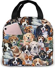 Portable Insulated Lunch Bag, Dog Waterproof Bento