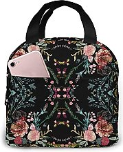 Portable Insulated Lunch Bag, Fable Floral ()