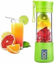 Portable Juicer Green 380ml Smoothie Fruit