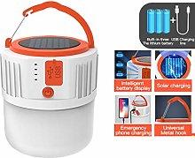 Portable Lanterns Solar LED Camping Light for