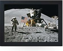 Portable Lap Desk Tray (Apollo Moon Landing)
