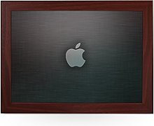 Portable Lap Desk Tray (Apple Logo Grey) Handmade