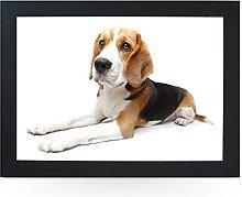 Portable Lap Desk Tray (Beagle Dog) Handmade