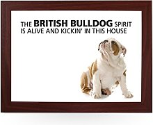 Portable Lap Desk Tray (British Bulldog Spirit)