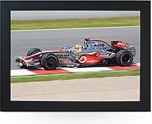 Portable Lap Desk Tray (F1 Mclaren Hamilton)