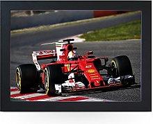 Portable Lap Desk Tray (F1 Vettel Ferrari)