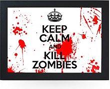 Portable Lap Desk Tray (Keep Calm and Kill