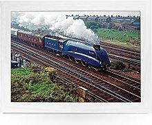 Portable Lap Desk Tray (Mallard 1998 Train)