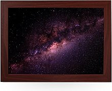 Portable Lap Desk Tray (Milky Way Galaxy) Handmade