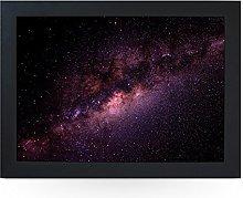 Portable Lap Desk Tray (Milkyway Galaxy Space)