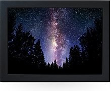 Portable Lap Desk Tray (Milkyway Night Sky)