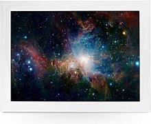 Portable Lap Desk Tray (Orion Nebula Space)
