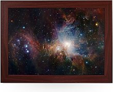 Portable Lap Desk Tray (Orion Nebula Space)