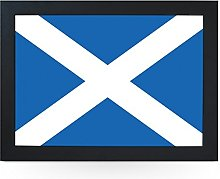 Portable Lap Desk Tray (Scottish Flag) Handmade