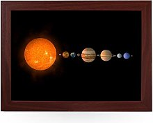 Portable Lap Desk Tray (Solar System) Handmade