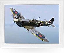 Portable Lap Desk Tray (Spitfire Plane) Handmade