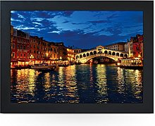 Portable Lap Desk Tray (Venice Rialto Bridge)