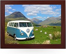 Portable Lap Desk Tray (VW Campervan Blue On